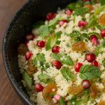 Pomegranate Parsley Couscous Salad