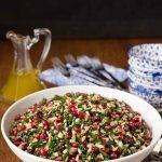 Pomegrante Pear Salad