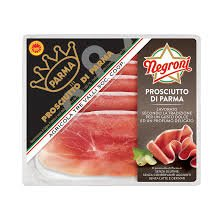 Stock photo of a package of Prosciutto De Parma used for making Prosciutto-Wrapped Chicken Breasts.