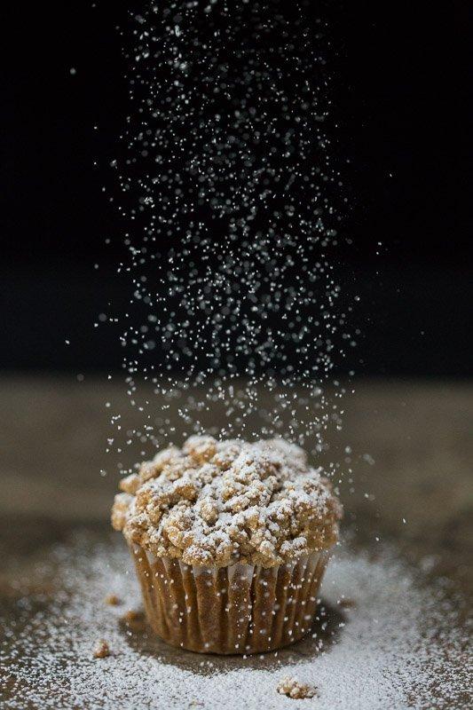 Easy Pumpkin Crumb Muffins