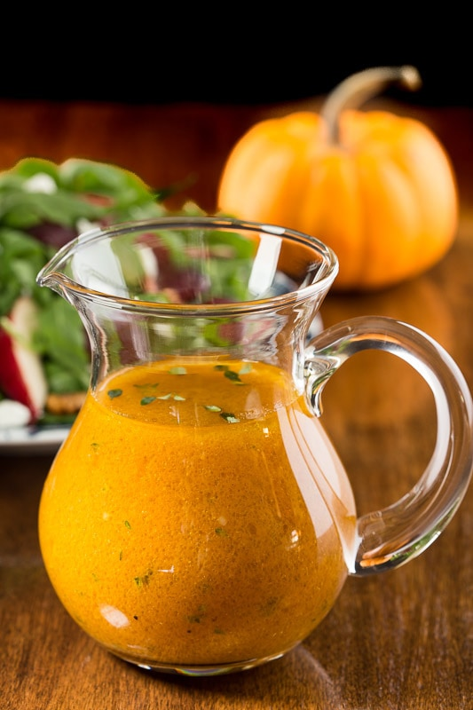 Pumpkin Maple Vinaigrette