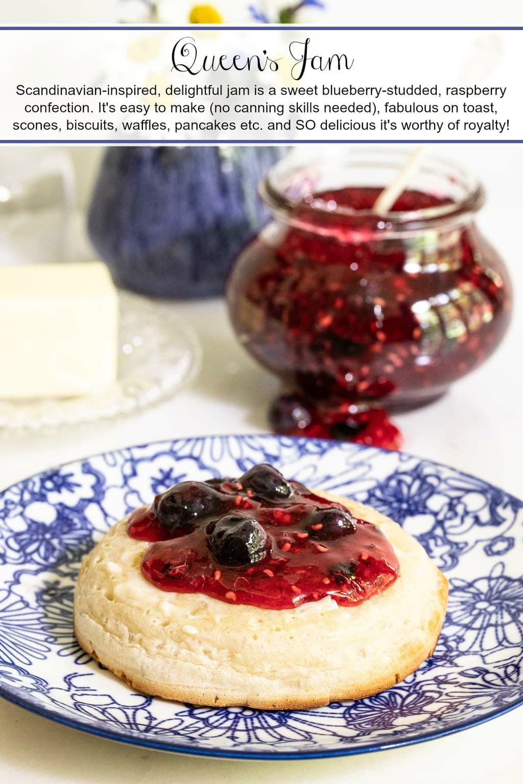Queen's Jam (Raspberry Blueberry Jam)