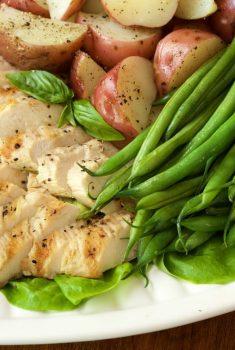 Grilled Chicken Nicoise Salad