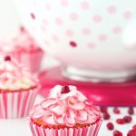 Raspberry Pomegranate Swirl Cupcakes {KitchenAid Mixer Giveaway!}