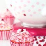 Raspberry Pomegranate Swirl Cupcakes {KitchenAid Mixer Giveaway!}