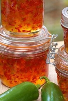 Red Green Pepper Jelly