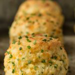 Ridiculously Easy Cheddar Chive Biscuits