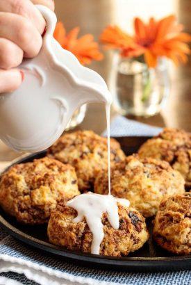 Ridiculously Easy Cinnamon Raisin Buttermilk Biscuits