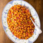 Brown Sugar Curry Roasted Butternut Squash