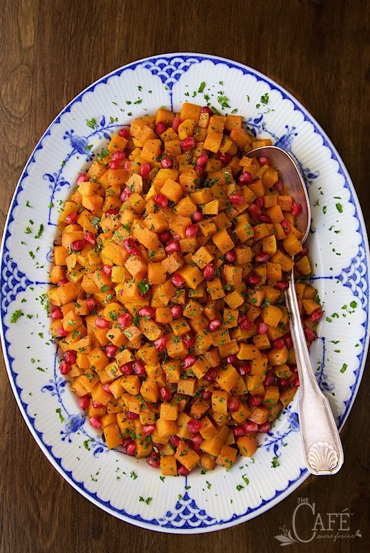Roasted Brown Sugar-Curry Butternut Squash