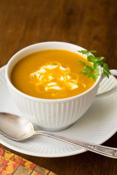 Easy Roasted Pumpkin Coconut Curry Soup