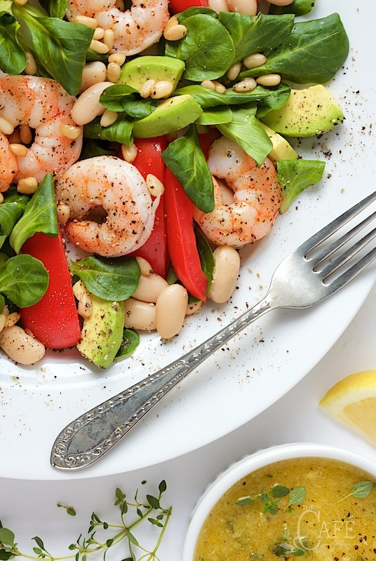 Roasted Shrimp, Tomato and White Bean Salad - it's easy enough for a ...