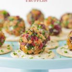 Rosemary Pecan Goat Cheese Truffles - a super fun, easy, make ahead appetizer that will wow the socks off of everyone!