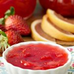 Ruby Red Grapefruit Strawberry Marmalade