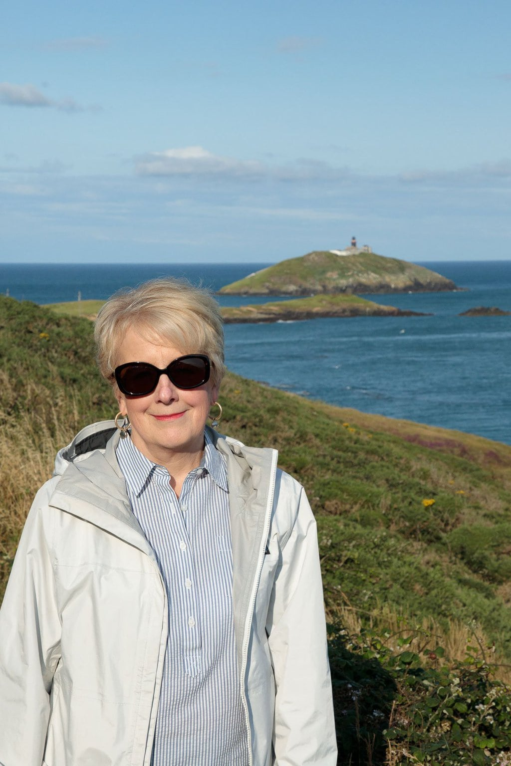 Photo of Chris on the Ballycotton Cliff Walk in East Cork, Ireland.