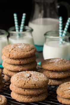 Sea Salted Brown Sugar Cookies