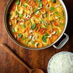 Shrimp and Chicken Cashew Curry