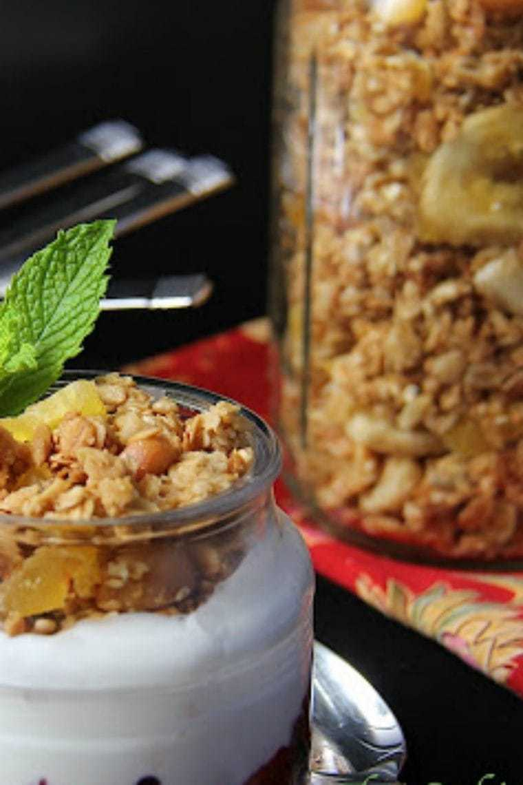 South Seas Coconut Granola