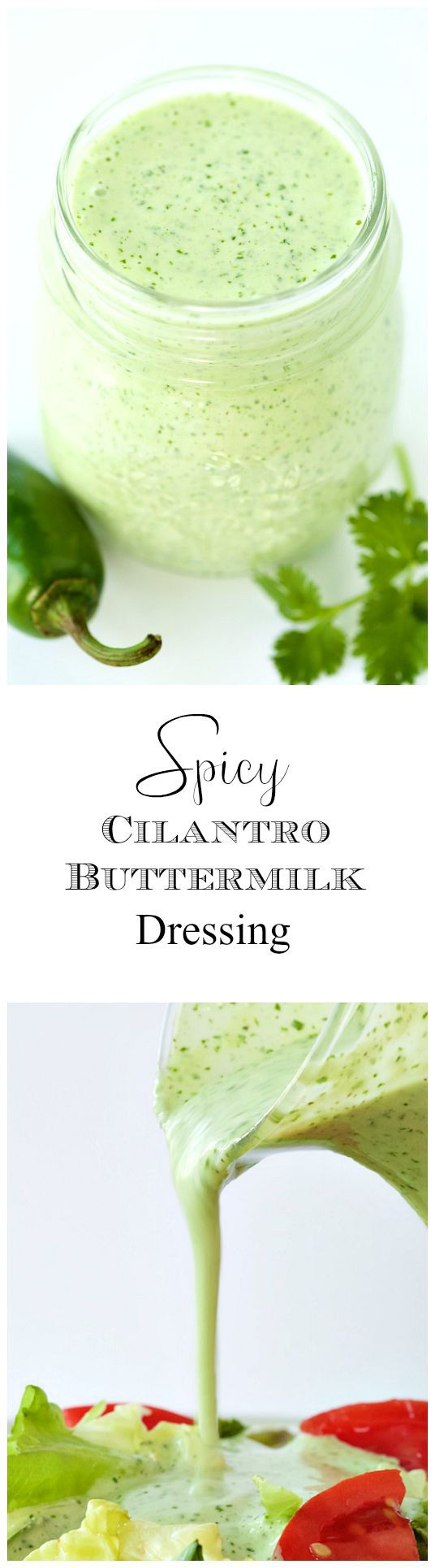 One of those insanely good salad dressings that will make you want to skip the main course!