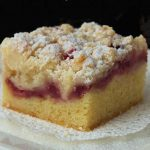 Sweet Strawberry Crumb Bars