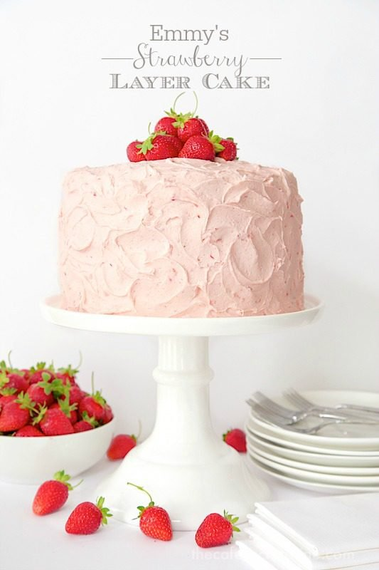 Images Of Strawberry Layer Cake : Strawberry Layer Cake The Cafe Sucre Farine