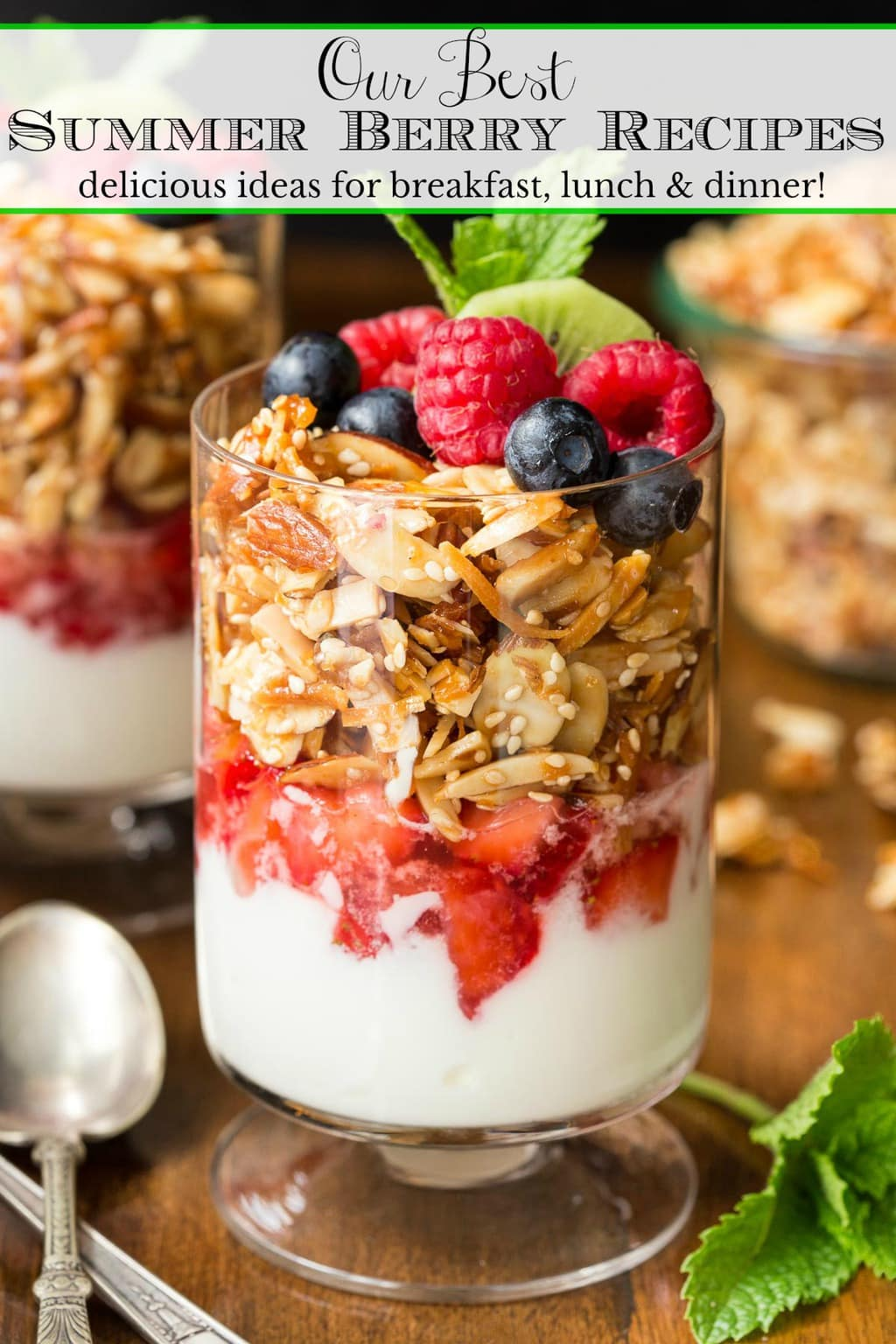 Summer Berries – Delicious Recipe Ideas for Breakfast, Lunch and Dinner