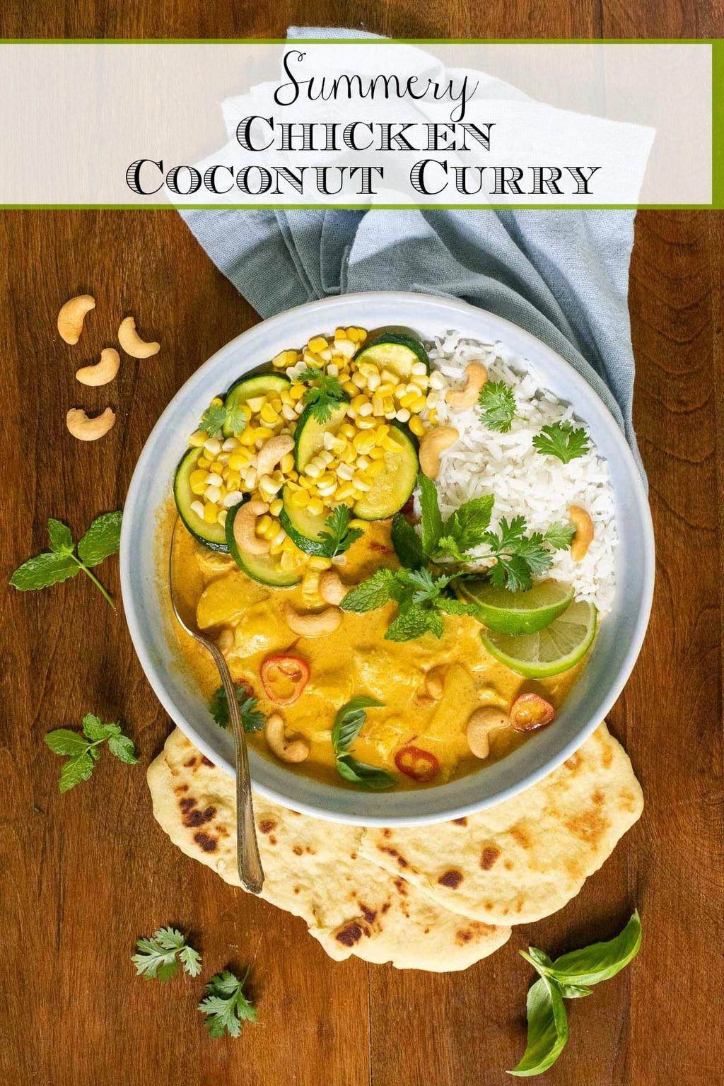 Summery Chicken Coconut Curry