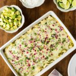 Super Easy Chicken Enchiladas Verde