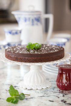 Swedish Chocolate Sticky Cake