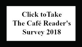 Take the Café Reader's Survey 2018 Button