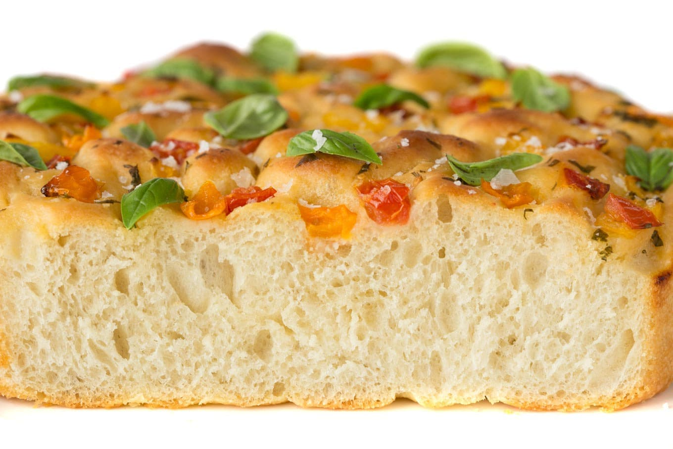 Tomato Basil Parmesan Focaccia - this Italian-inspired bread may just be one of the most delicious things you ever put in your mouth!