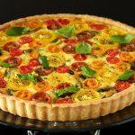 Tomato, Basil and Fresh Mozzarella Tart
