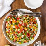 Turkish Tomato Cucumber Salad