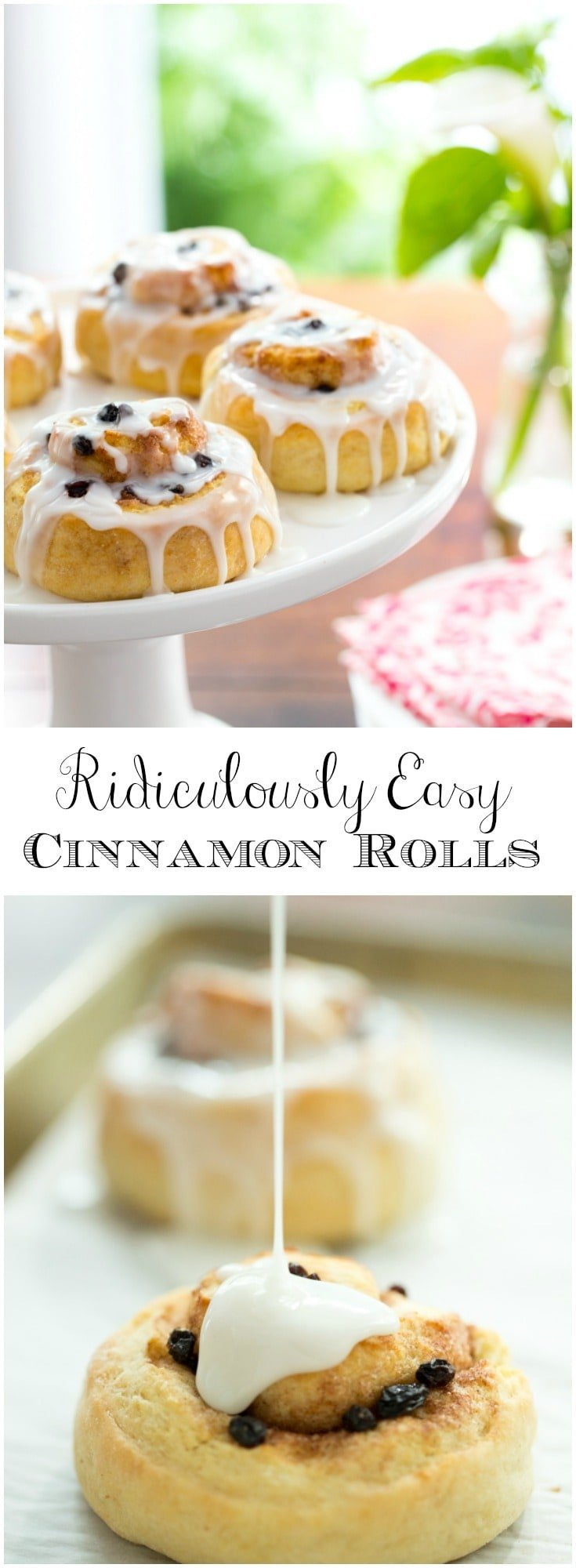 These no-yeast, no-rise, make-ahead cinnamon rolls employ a secret technique that makes them melt in your mouth delicious!