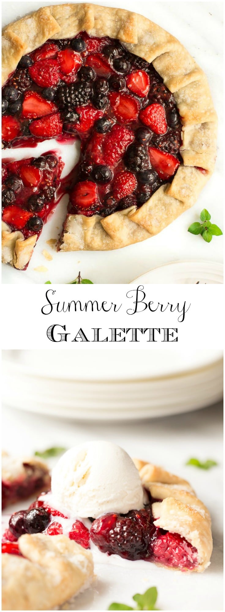 A quick, easy and super delicious summer dessert!
