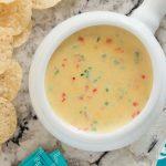 Warm Jalpeno White Cheddar Dip