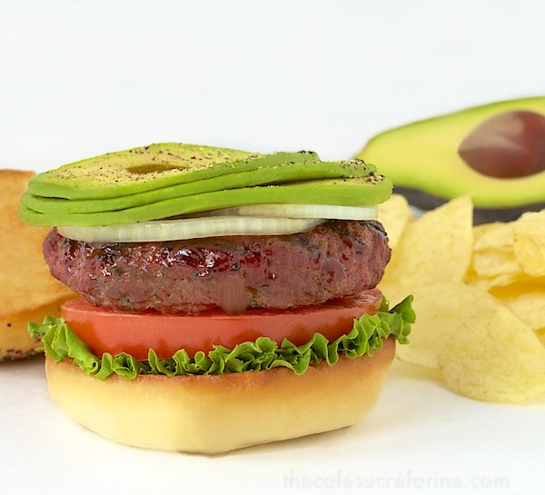 California Avocado Western Burgers - these are fantastic and full of great flavor! - thecafesucrefarine.com