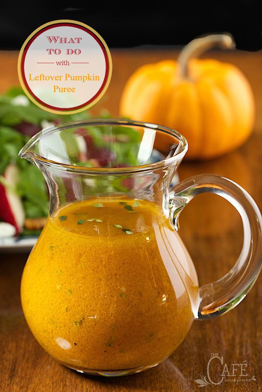 What do to with Leftover Pumpkin Puree - a few fun ideas to help use up that extra pumpkin that always seems to be leftover.