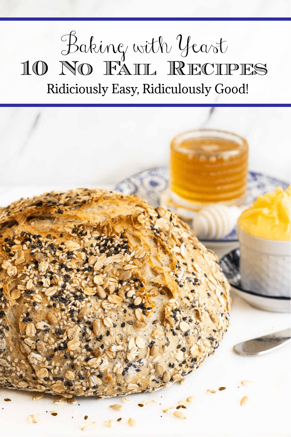 Yeast phobia? Easy recipes for baking success!