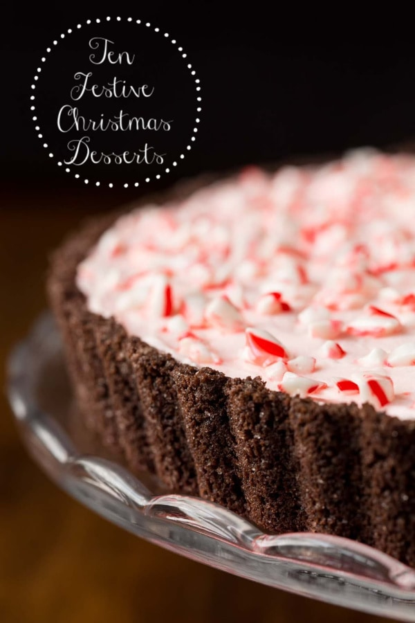 Ten festive and holiday-worthy desserts, perfect for your Christmas celebrations! #christmasdesserts #holidaydesserts #easyentertaining