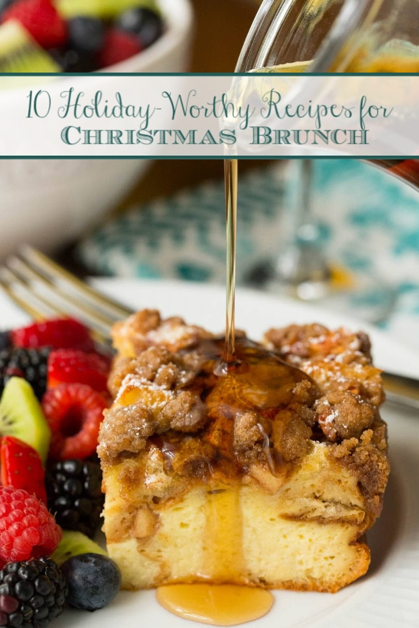 Holiday-Worthy Recipes for Christmas Brunch