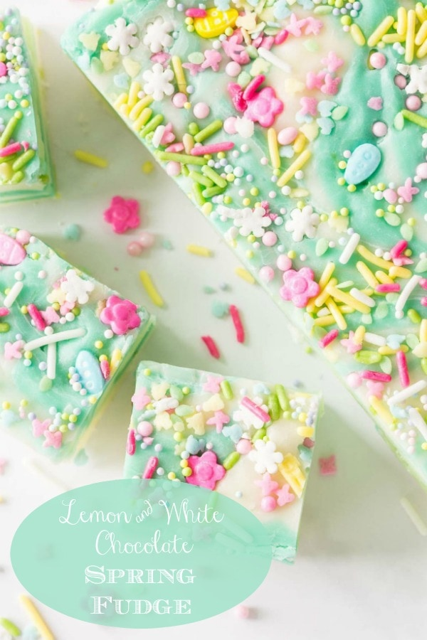 The most fun, whimsical, delicious fudge to celebrate any special occasion with. This one seems to shout \