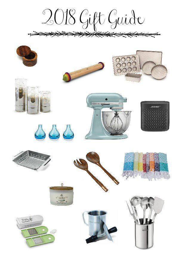 Our holiday gift guides are here- lots of ideas for the people in your life that love to cook and entertain! And you can shop from the comfort of your home! #giftguide #giftsforthecook