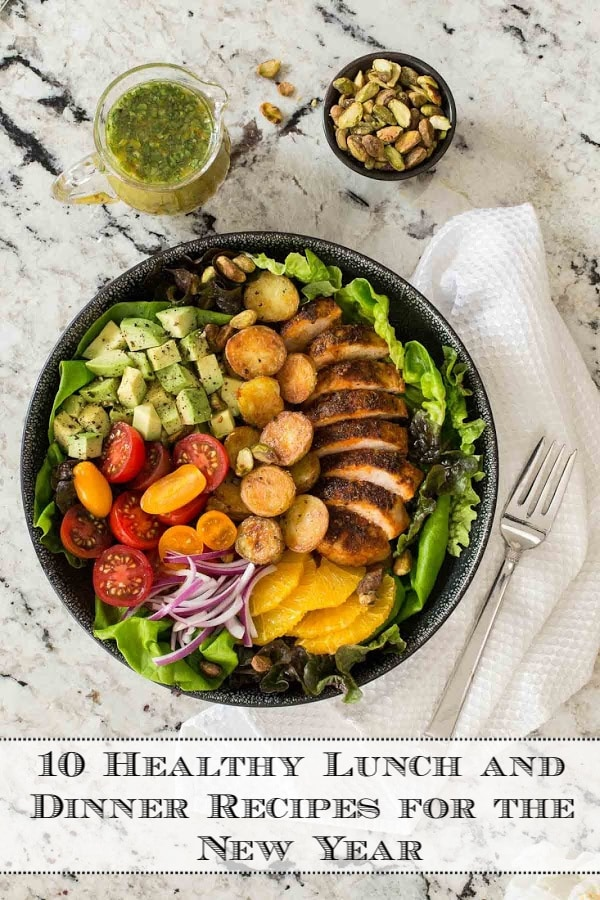 Fresh, healthy and seasonal lunch and dinner recipes for the new year. These recipes will help you feel your best, without sacrificing flavor! #healthymeals #healthyrecipes #healthyrecipesforwinter