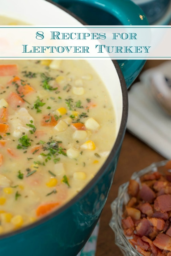 8 Great Recipes for Leftover Turkey