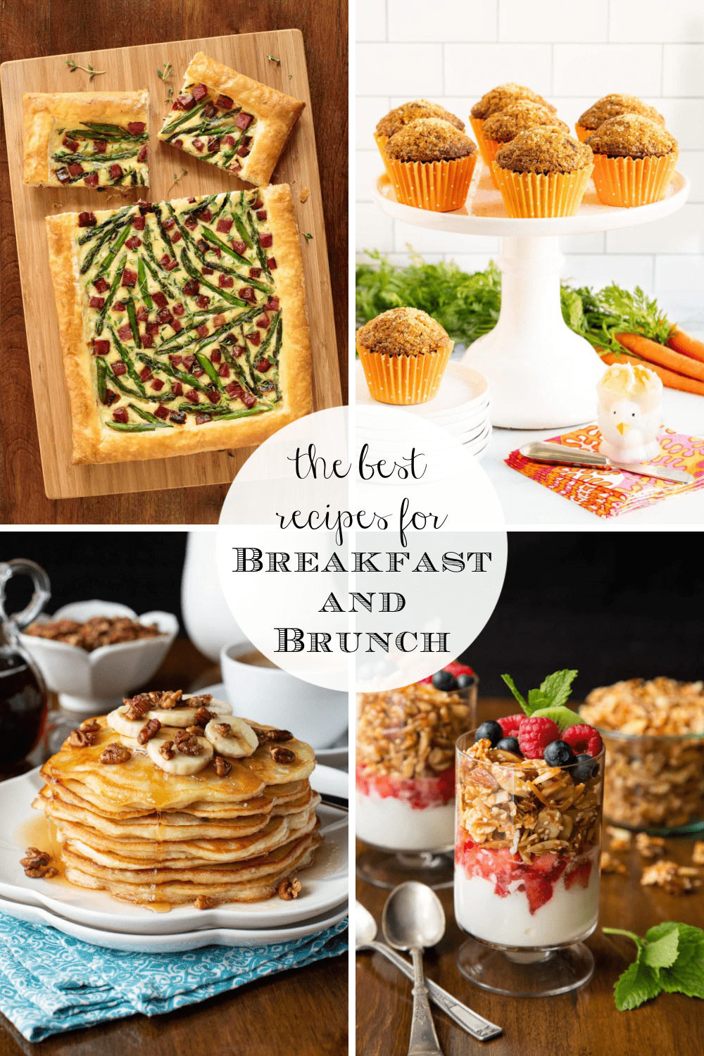 Delicious, Easy Breakfast and Brunch Recipes