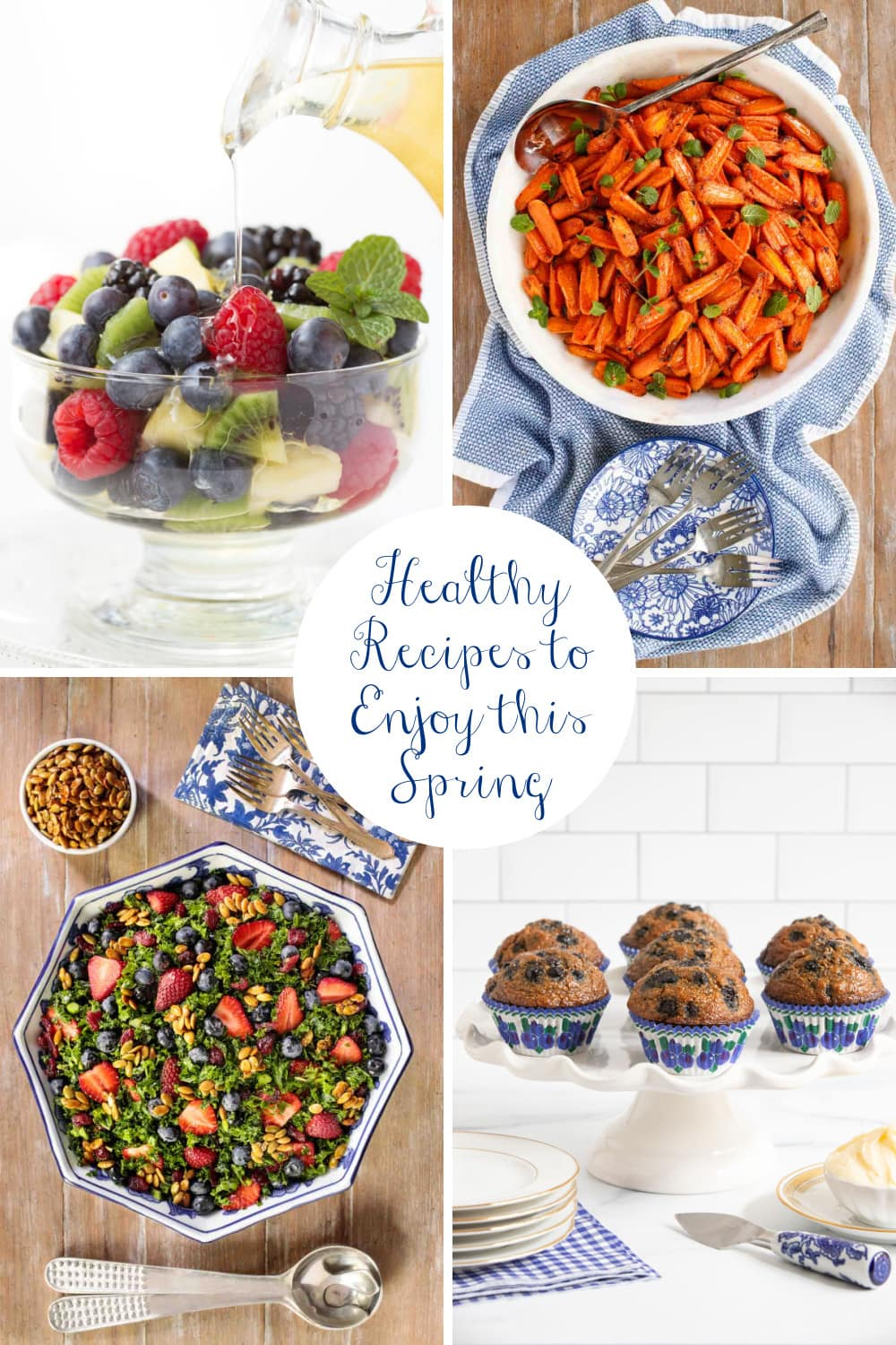 Ten Healthy, Delicious Recipes to Enjoy this Spring