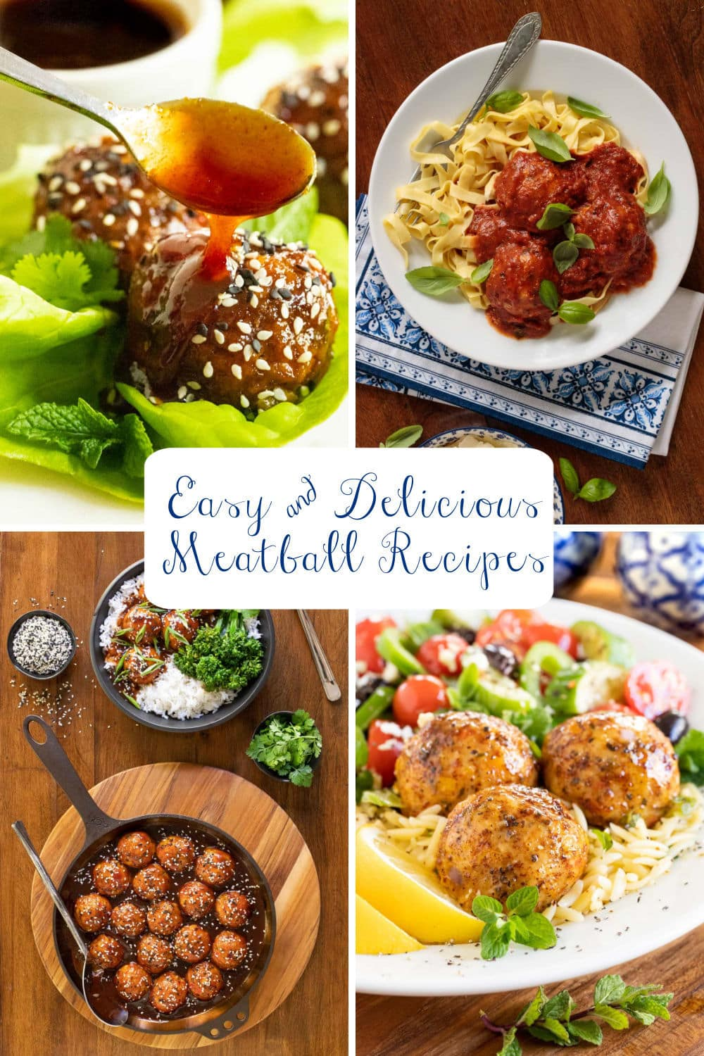 Easy and Delicious Meatball Recipes You\'ll Be Making All Year Long