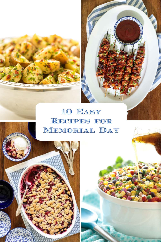 Easy Recipes for a Deliciously Memorable Memorial Day!