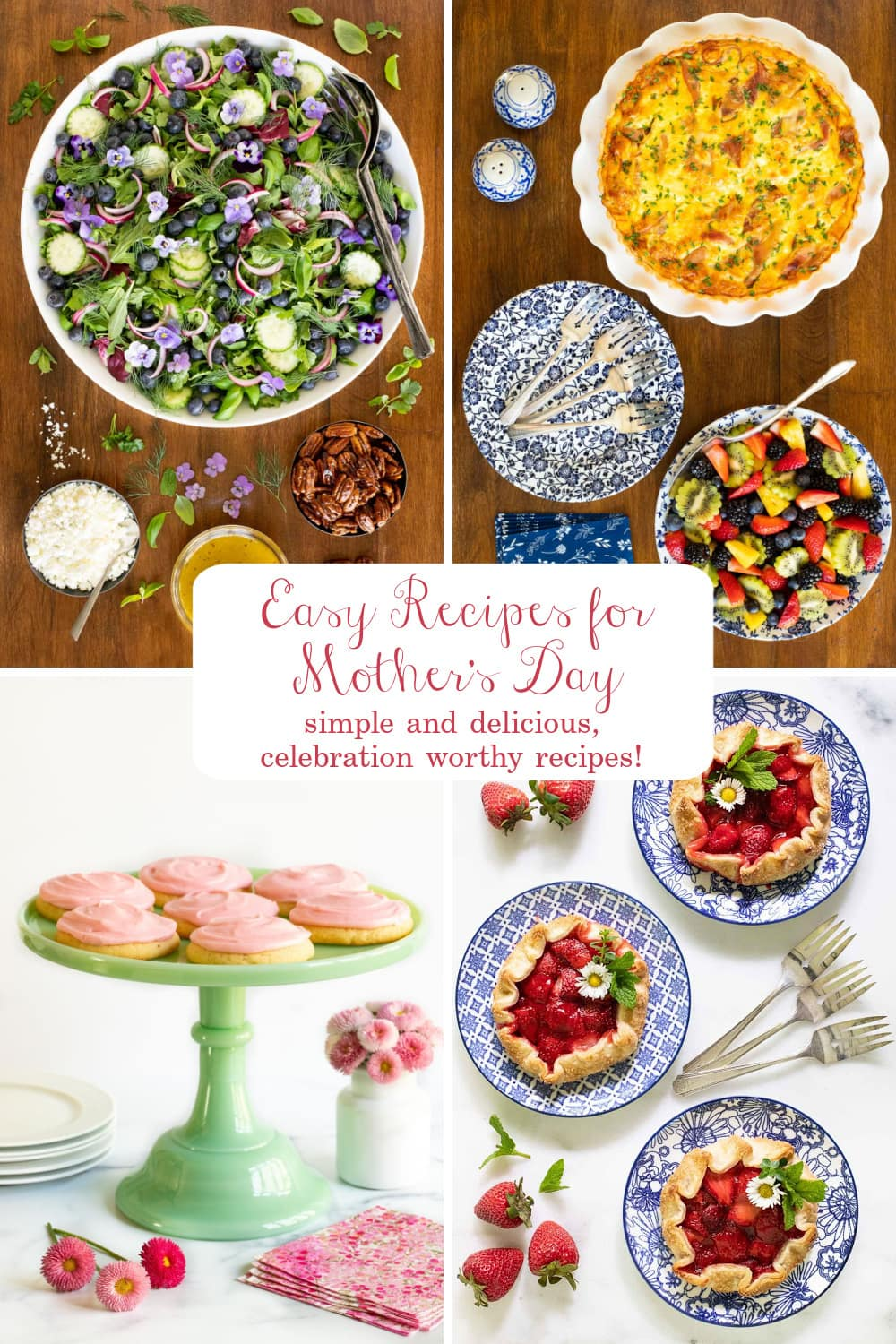 Thank Mom with Something Delicious! Easy Mother\'s Day Recipes
